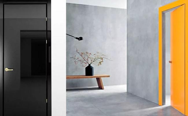 Межкомнатная дверь в стиле хай-тек