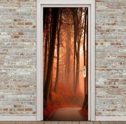 Дорогой стикер для двери
