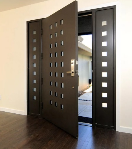 Оригинальные металлические двери