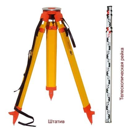 Как измерить с помощью нивелира?