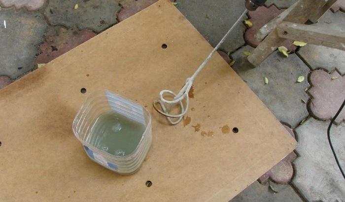 Как сделать из бетона мрамор?