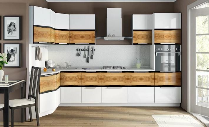 Модная кухонная мебель