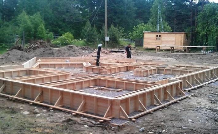 Устройство фундаментов для малоэтажного строительства