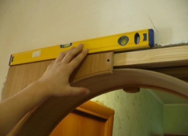 Как сделать арку из панелей МДФ