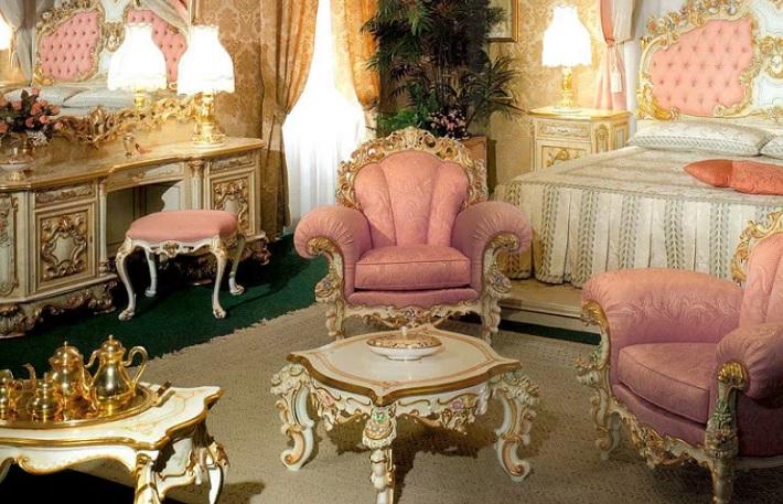 Стиль в интерьере рококо