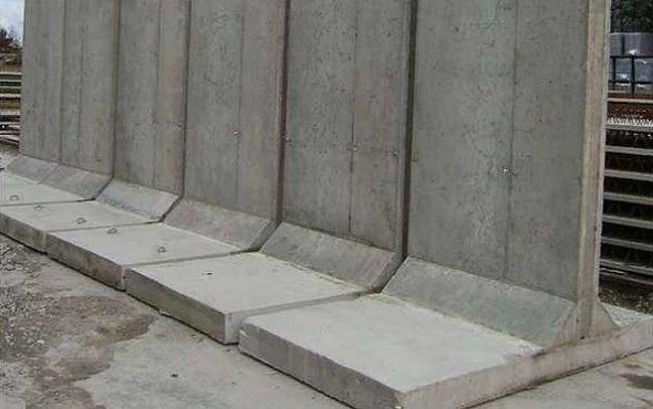 Как сделать подпорную стенку из бетона?