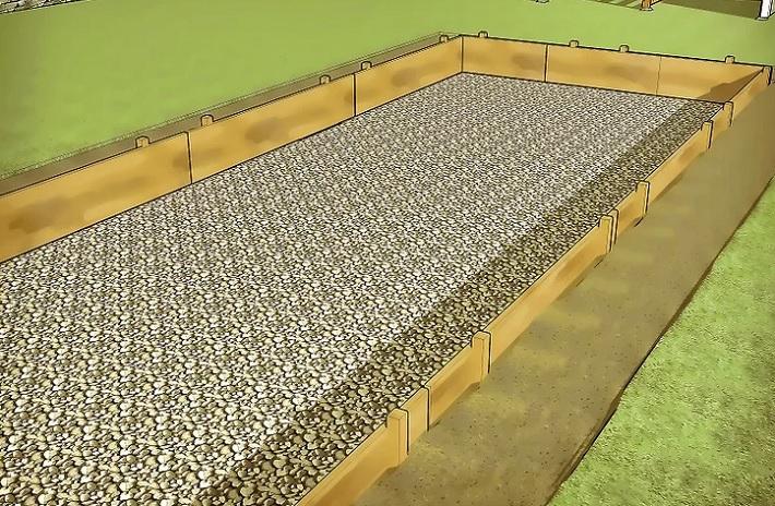 Технология укладки бетонной смеси