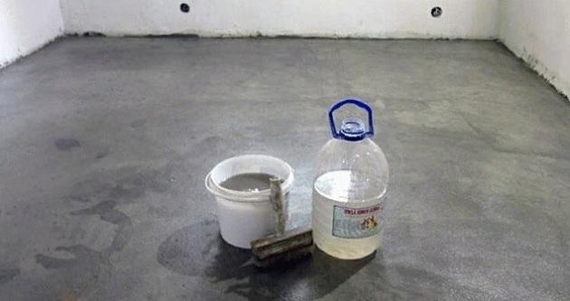 Где используют жидкое стекло?