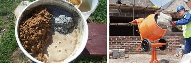 Из чего состоит бетонная смесь?
