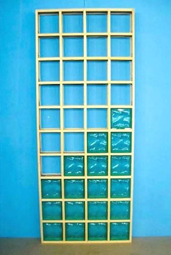 Что можно сделать из стеклоблоков?