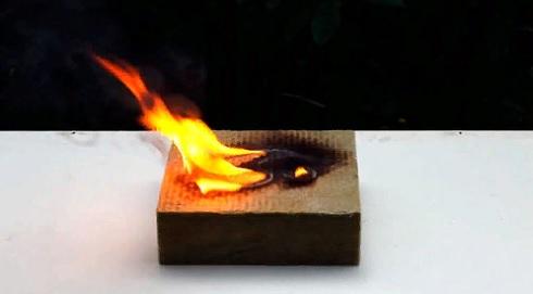 Какие строительные материалы относятся к горючими, а какие к негорючим