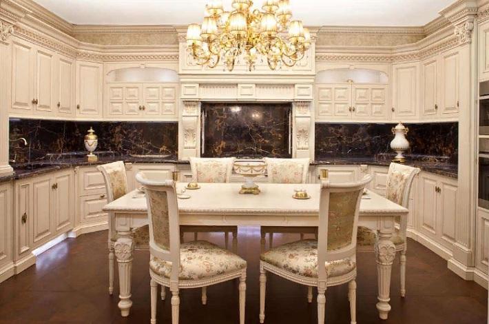Особенности кухни в классическом стиле