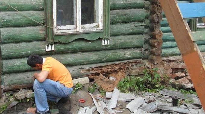 Как усилить фундамент деревянного дома?