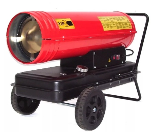 Тепловая пушка для обогрева гаража