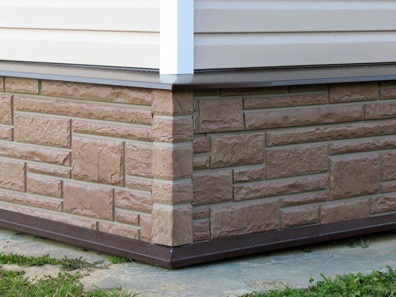 Чем отделать фундамент дома снаружи?