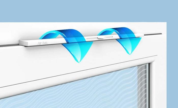 Вентиляционные приточные клапаны для окон ПВХ