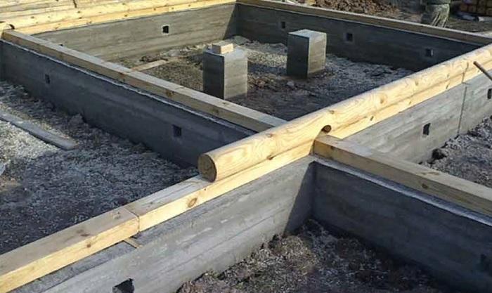 Виды фундаментов для дома из бруса
