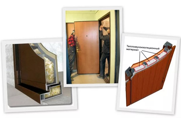 Входные двери: уплотнение и звукоизоляция