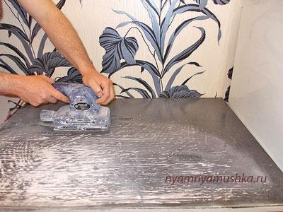 Как отреставрировать старый стол для кухни: мастер-класс
